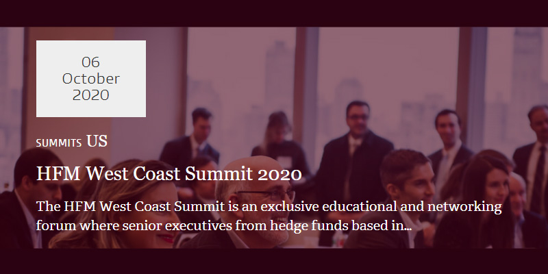HFM West Coast Summit 2020