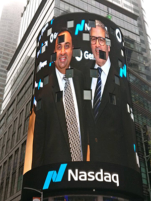 The ringing of the Nasdaq Bell event Pic 3