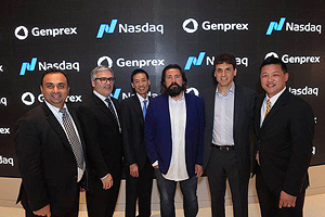 The ringing of the Nasdaq Bell event photo 2